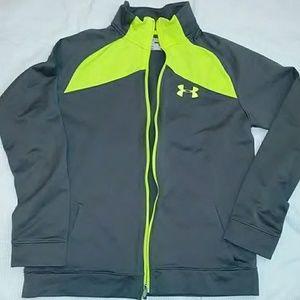 Boys size XL Under Armour warm up jacket